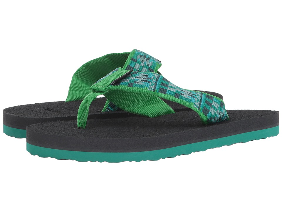 Teva Kids - Mush II (Little Kid/Big Kid) (Robble Green) Kids Shoes