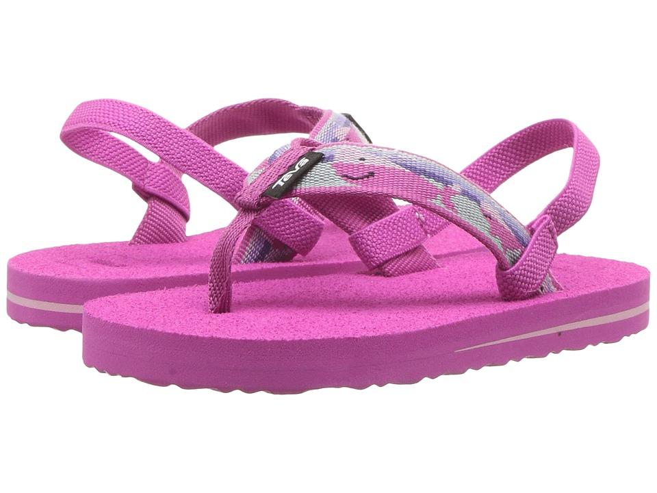 Teva Kids - Mush II (Toddler) (Willy Pink) Girls Shoes