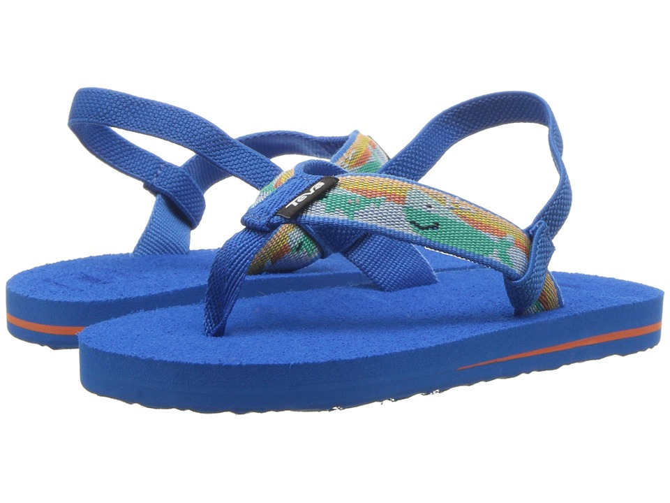 Teva Kids - Mush II (Toddler) (Willy Blue) Boys Shoes