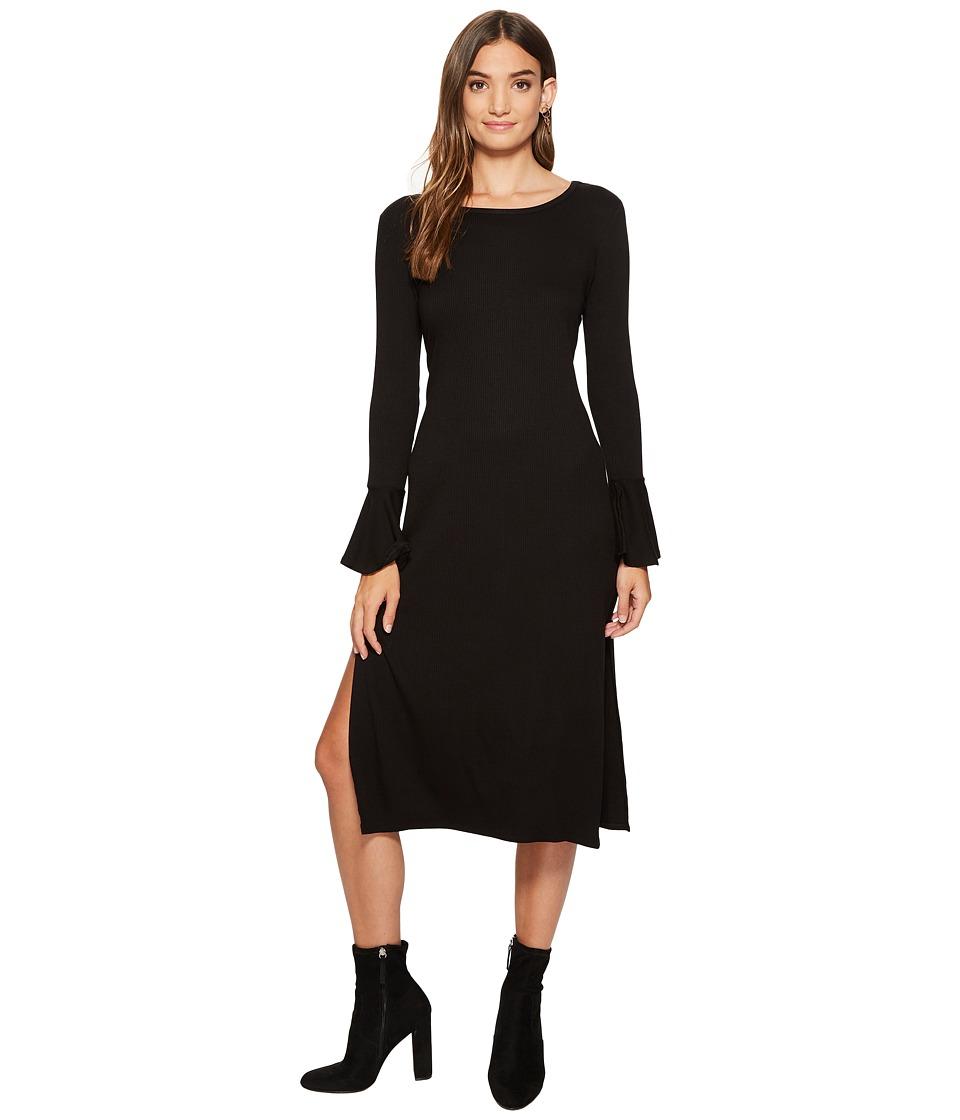 1.STATE - Long Sleeve Maxi Dress w/ Ruffle Cuff