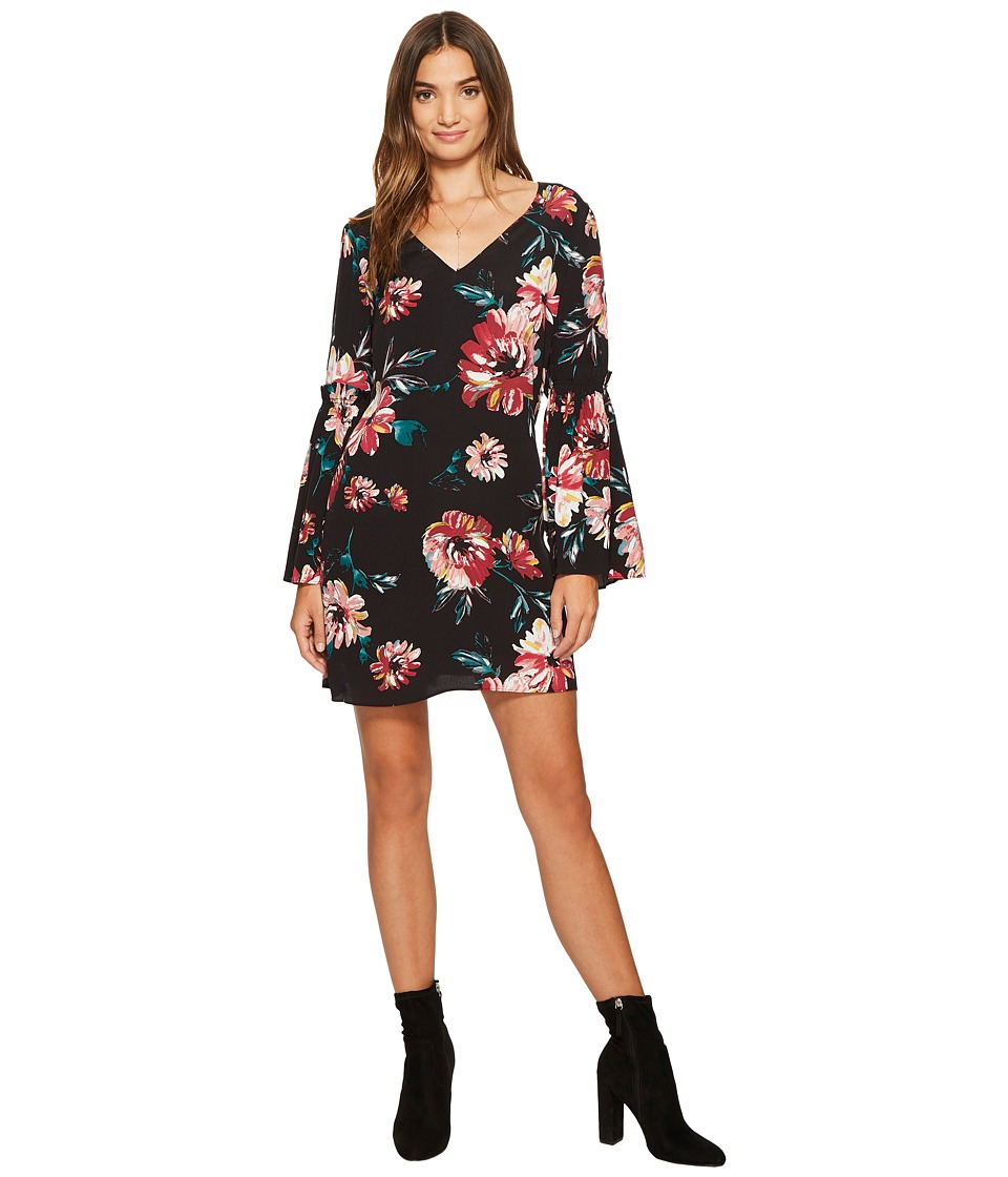 1.STATE - Bell Sleeve Swing Dress