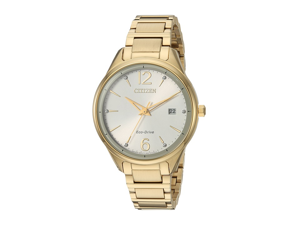 Citizen Watches - FE6102-53A Eco-Drive (Gold) Watches