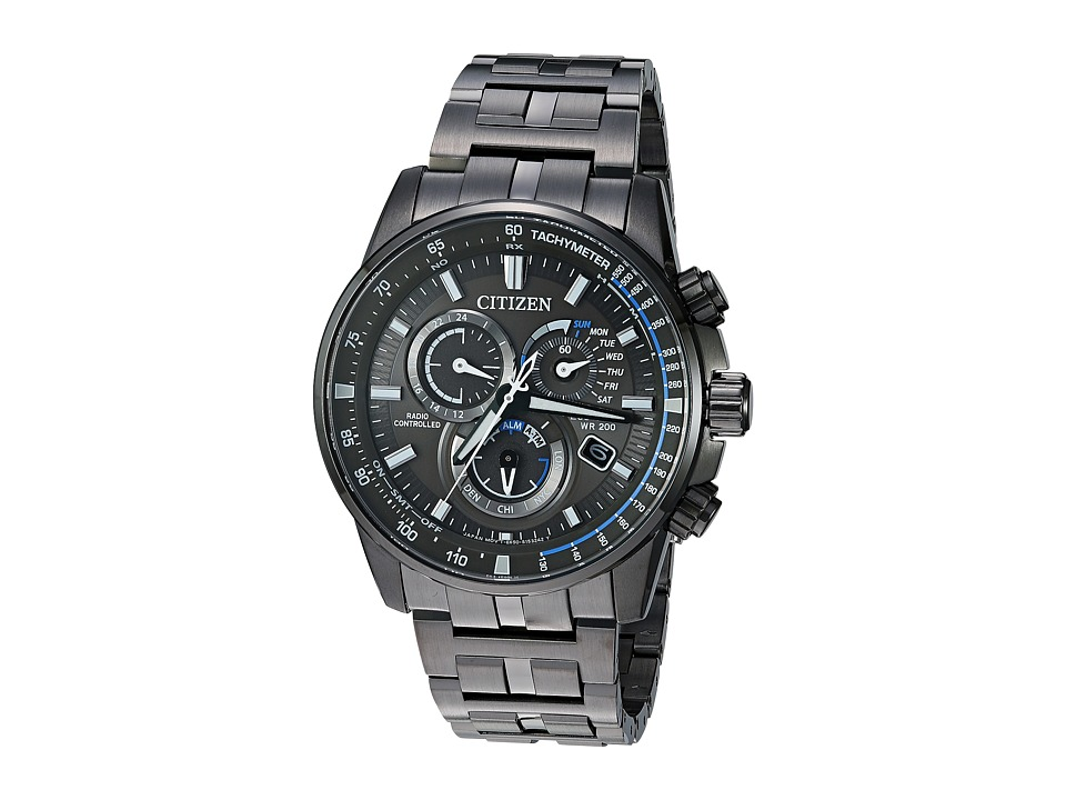 Citizen Watches - AT4127-52H Eco-Drive (Grey Ion Plated) ...