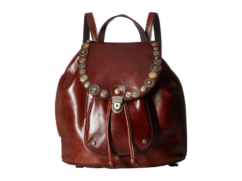 Patricia Nash - Casape Backpack (Tobacco) Backpack Bags