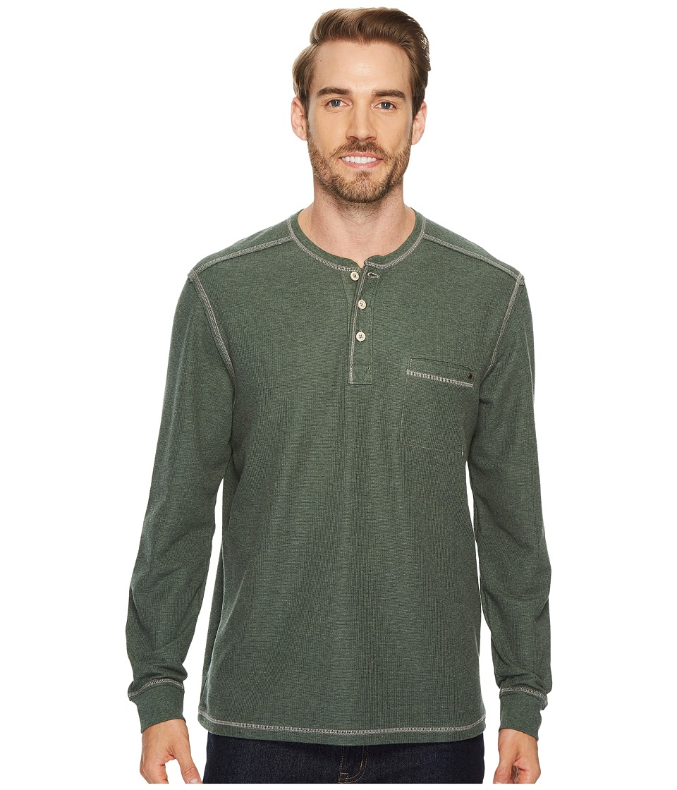 Tommy Bahama Island Thermal Henley (Military Heather) Men