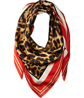 Vince Camuto - Racing Leopard Square Scarf