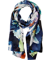 Vince Camuto - Floral Photo Clash Oblong Scarf