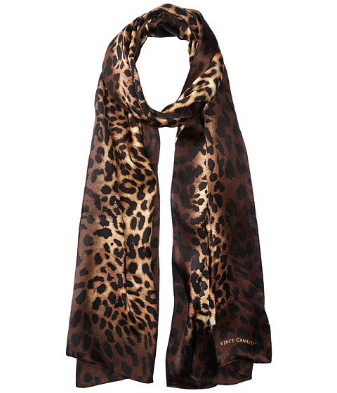 Vince Camuto Leopard Ombre Oblong Scarf - Natural