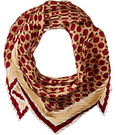Vince Camuto - Military Dot Pleated Square Scarf