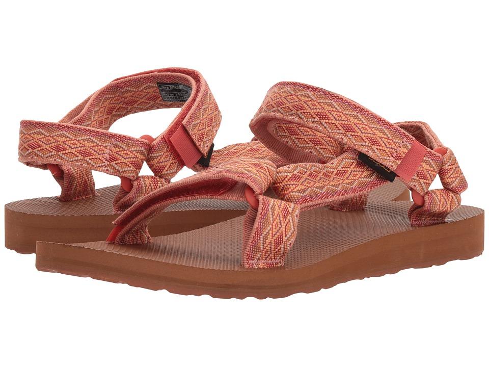 Teva Original Universal (Miramar Fade Coral Sand Multi) Sandals