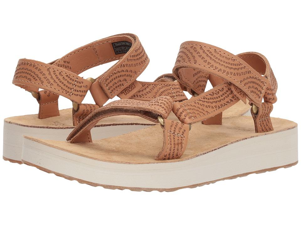 Teva - Midform Universal Geometric (Tan) Womens Shoes