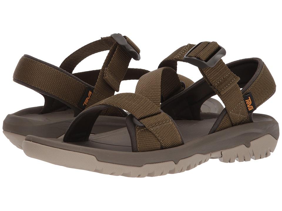 Teva - Hurricane XLT2 Cross Strap (Dark Olive) Mens Shoes