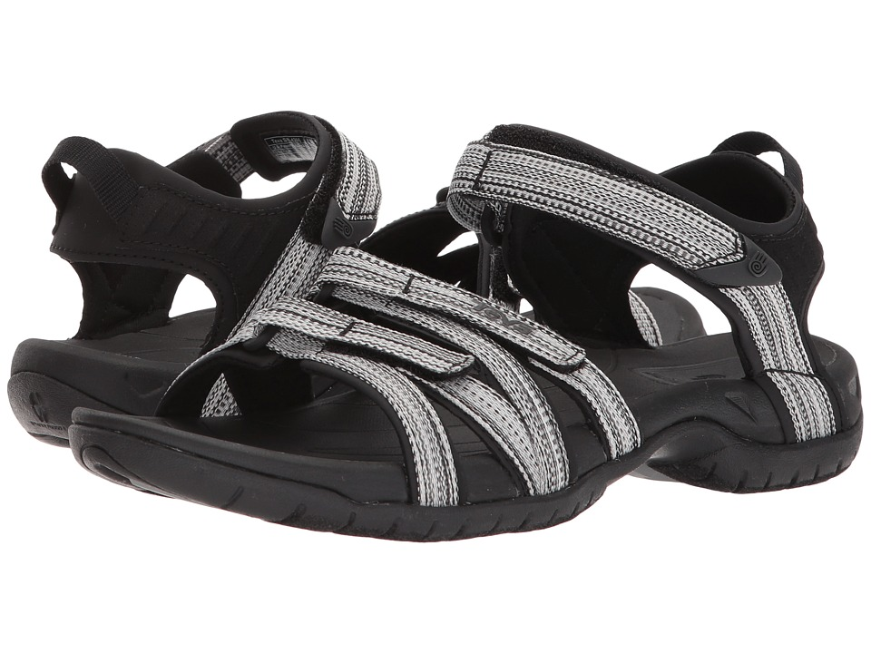 Teva Tirra (Black/White Multi) Sandals