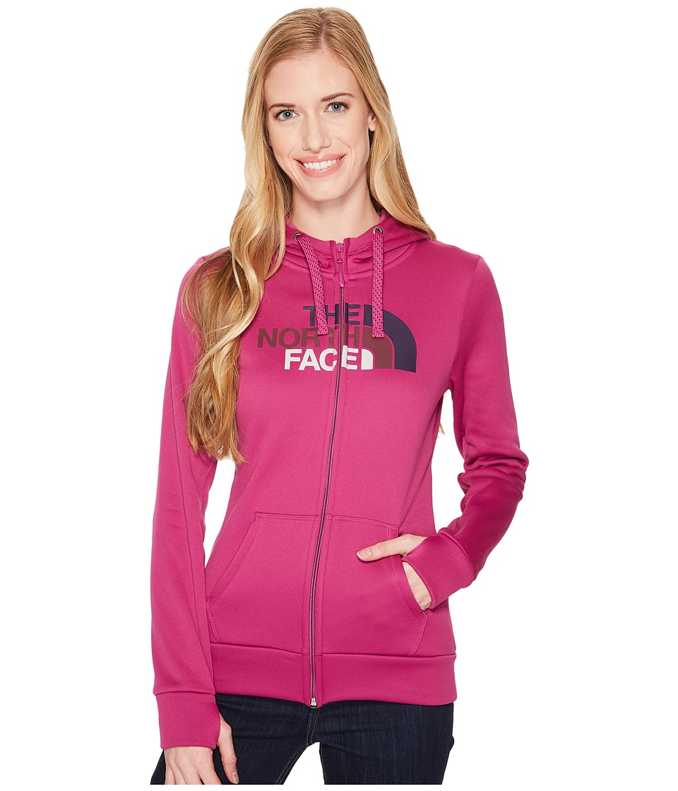 The North Face Fave 1/2 Dome Full Zip 2.0 (Wild Aster Purple/Galaxy Purple) Women