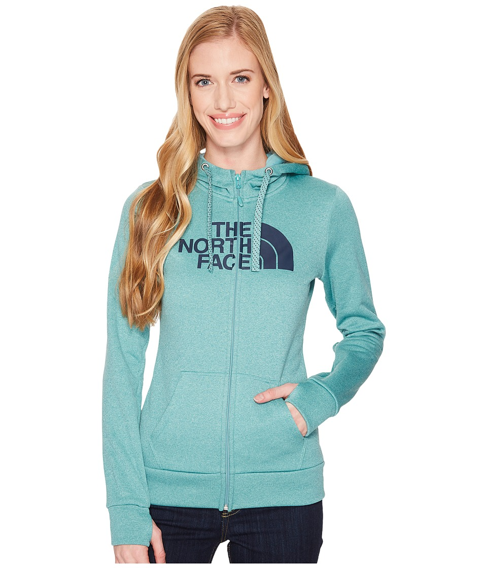 The North Face Fave 1/2 Dome Full Zip 2.0 (Bristol Blue Heather/Urban Navy) Women