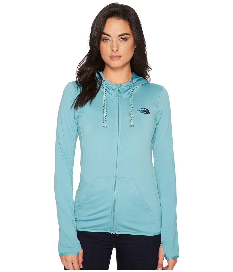 The North Face Fave Lite LFC Full Zip Hoodie (Bristol Blue/Urban Navy) Women