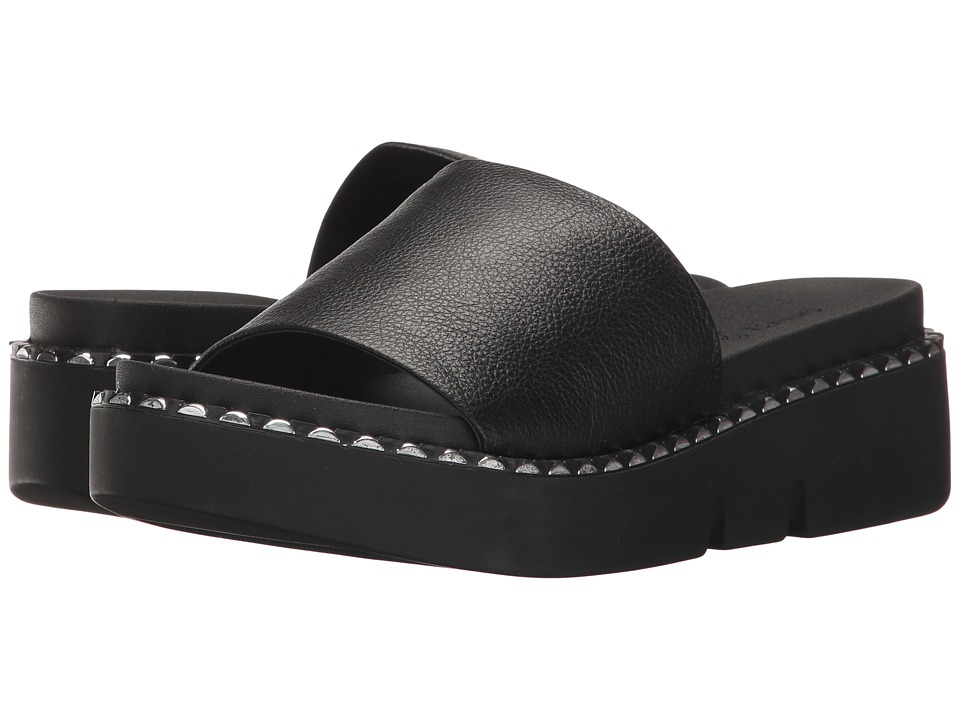 Chinese Laundry - Promise (Black Tumbled Leather) Women's Sandals