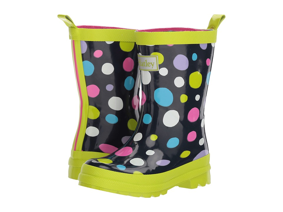 Hatley Kids Sunny Dots Rain Boots (Toddler/Little Kid) (Sunny Dots) Girls Shoes