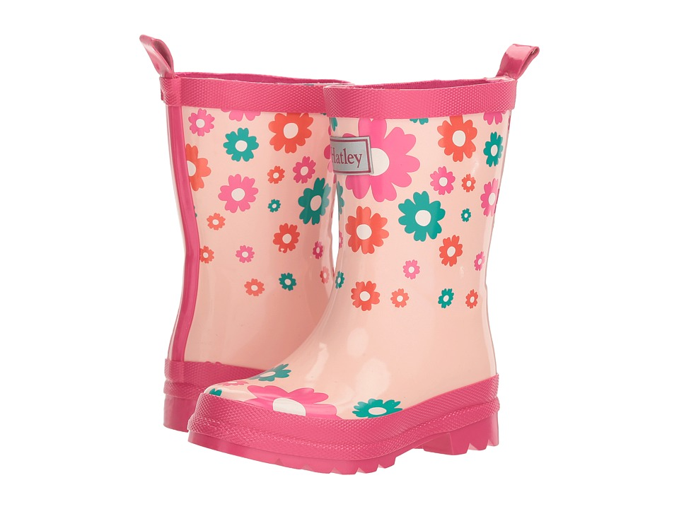 Hatley Kids Scattered Flowers Rain Boots (Toddler/Little Kid) (Scattered Flowers) Girls Shoes
