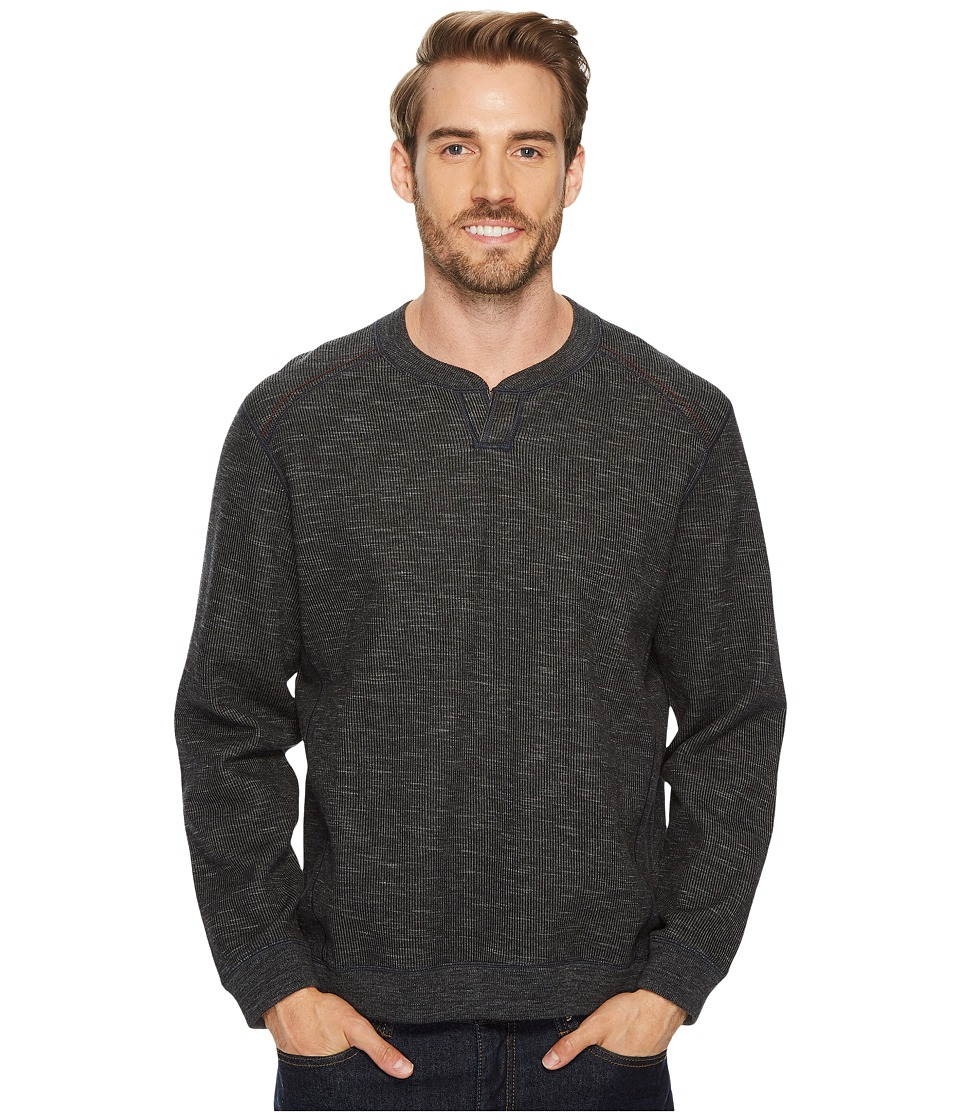 Tommy Bahama Reversible Flipsider Abaco Sweater (Noir) Men