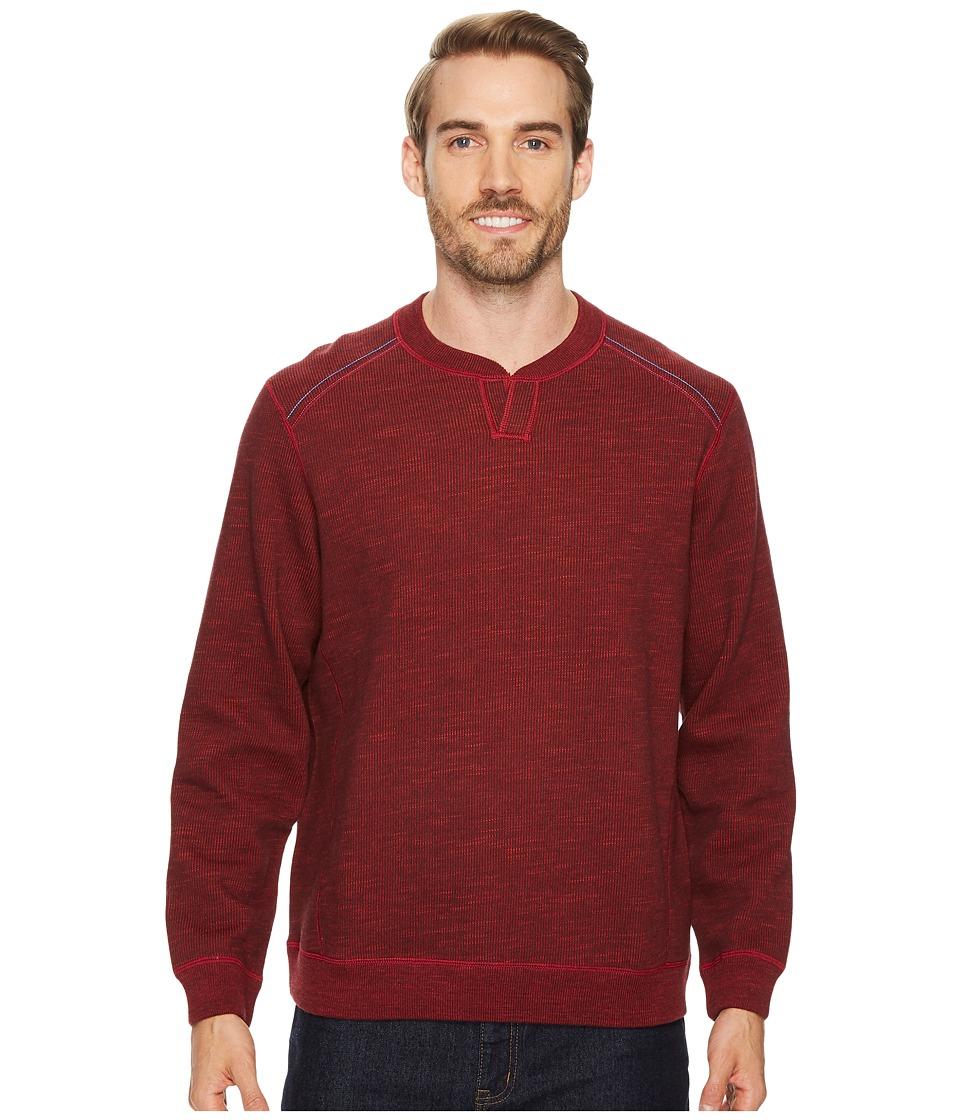 Tommy Bahama Reversible Flipsider Abaco Sweater (Flare Heather) Men