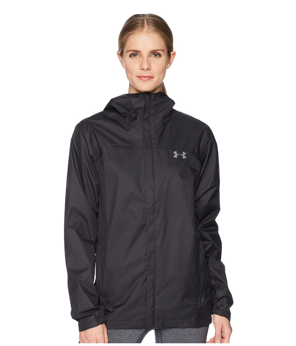 Under Armour - 2L Lined Shell Jacket (Black Graphite) Womens Coat