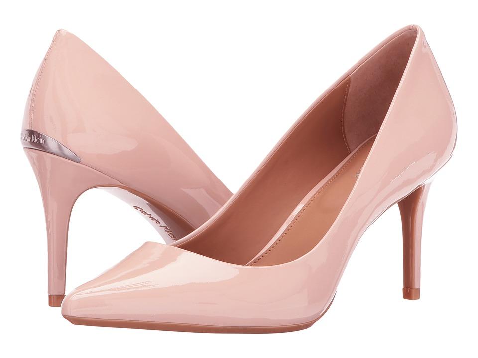 Calvin Klein Gayle (Sheer Satin Patent) High Heels