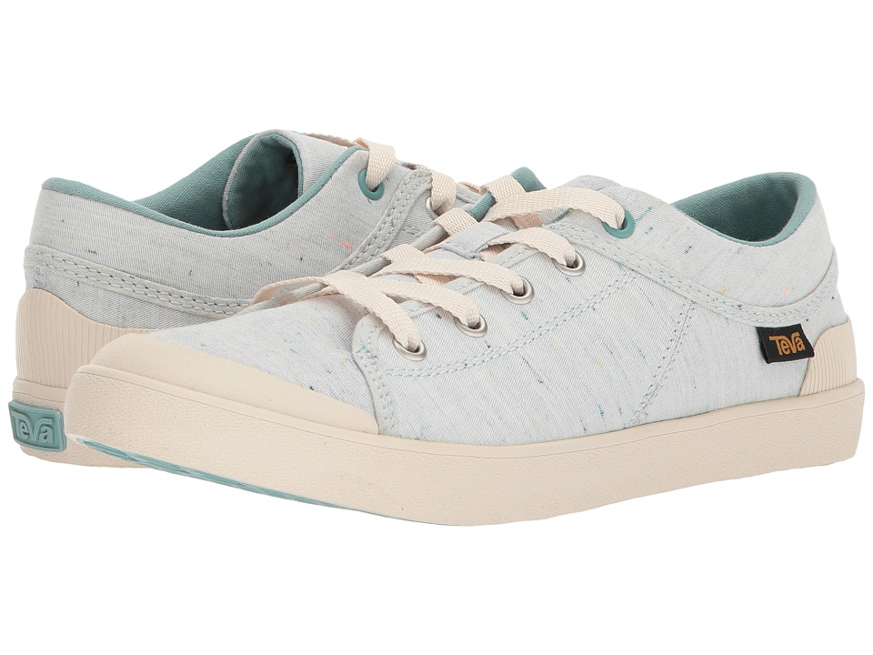 Teva Freewheel Slubby Canvas (Light Blue Multi) Women's Shoes