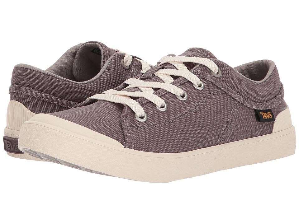 Teva Freewheel Washed Canvas (Plum Truffle) Women's Shoes