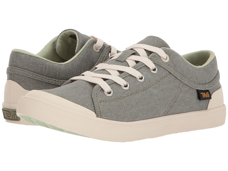 Teva Freewheel Washed Canvas (Desert Sage) Women's Shoes