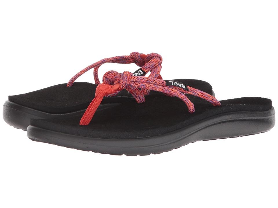 Teva - Voya Tri-Flip (Pink/Purple) Women's Sandals
