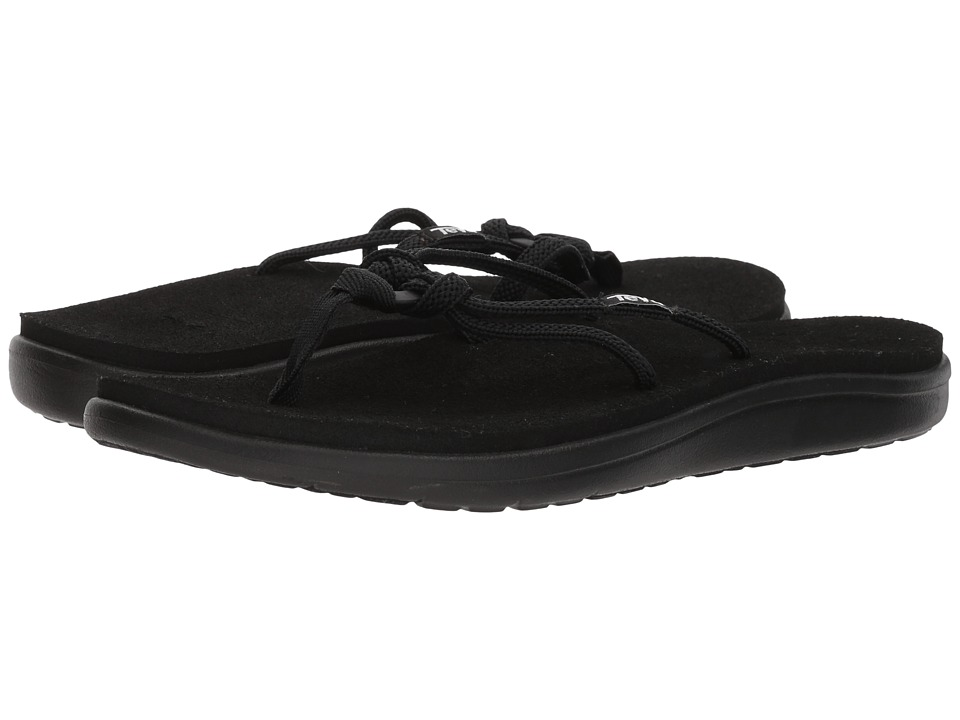 Teva Voya Tri-Flip (Black) Sandals