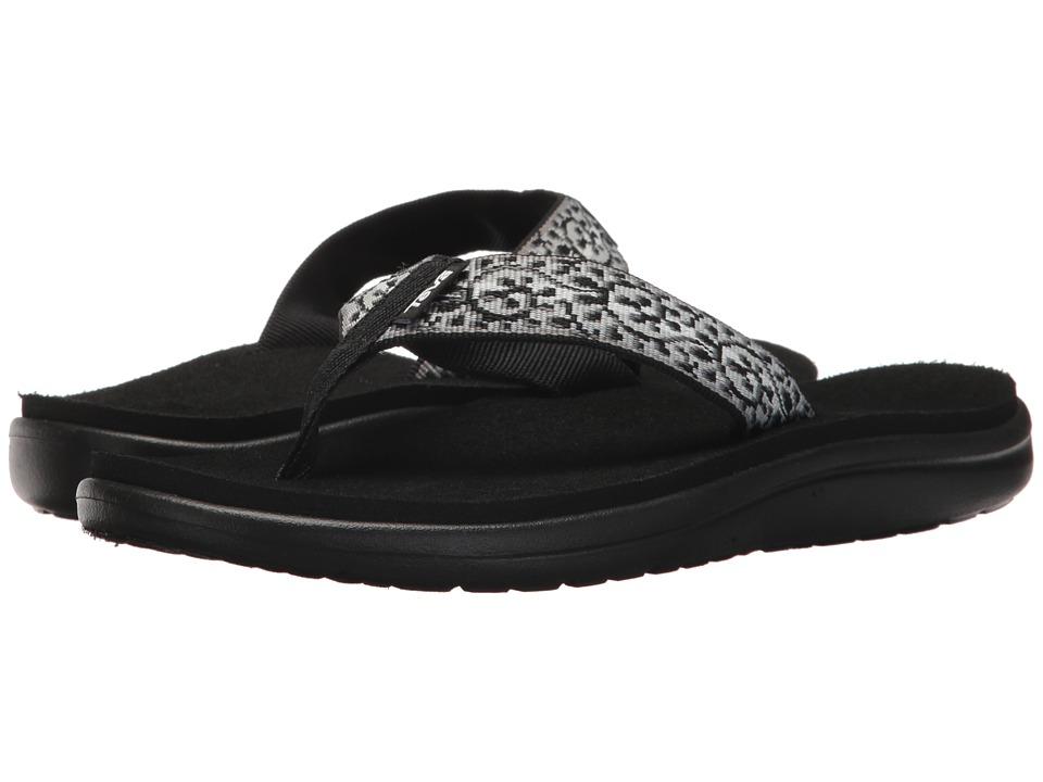 Teva - Voya Flip (Companera Black/White) Women's Sandals