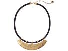 The Sak Metal Bib 16 Necklace