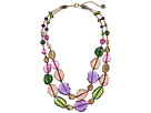The Sak Two Row Beaded 18 Necklace