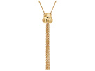 The Sak Chain Tassel Pendant 18 Necklace