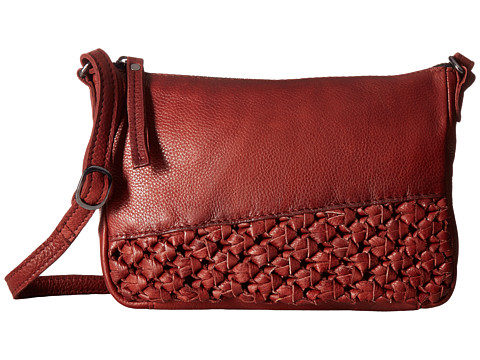 Day & Mood Angel Crossbody - Rusty Red
