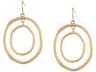 The Sak Large Metal Orbit Earrings
