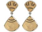 The Sak Fan Double Drop Earrings