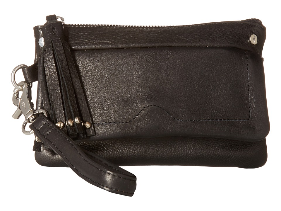 Day & Mood Pine Clutch (Black) Clutch Handbags