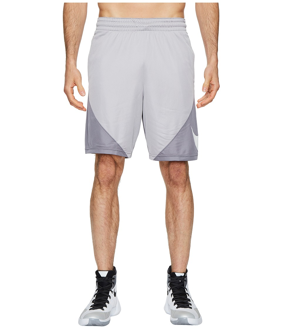 Nike Dry 9 Basketball Short (Atmosphere Grey/Gunsmoke/White) Men