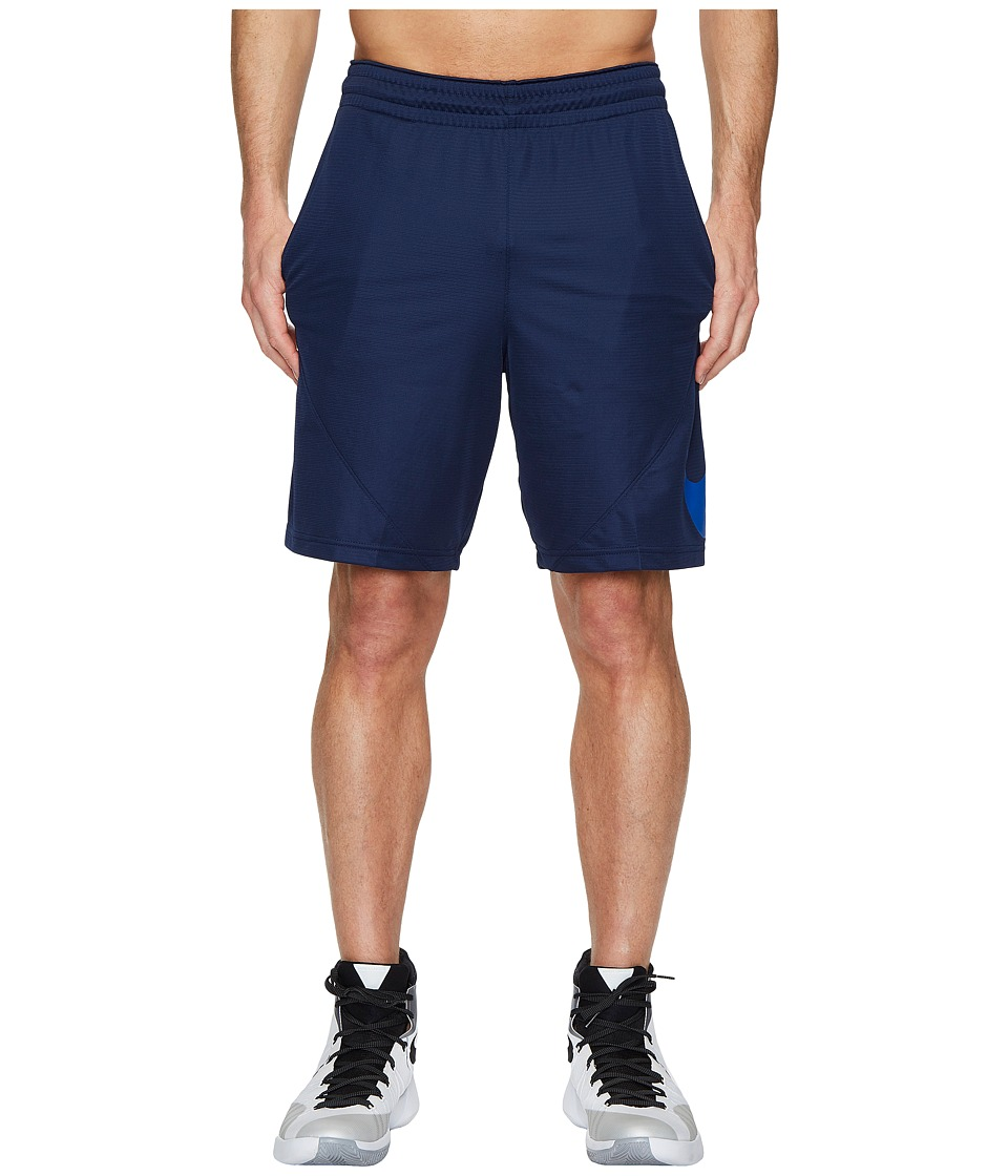 Nike Dry 9 Basketball Short (Midnight Navy/Midnight Navy/Hyper Cobalt) Men