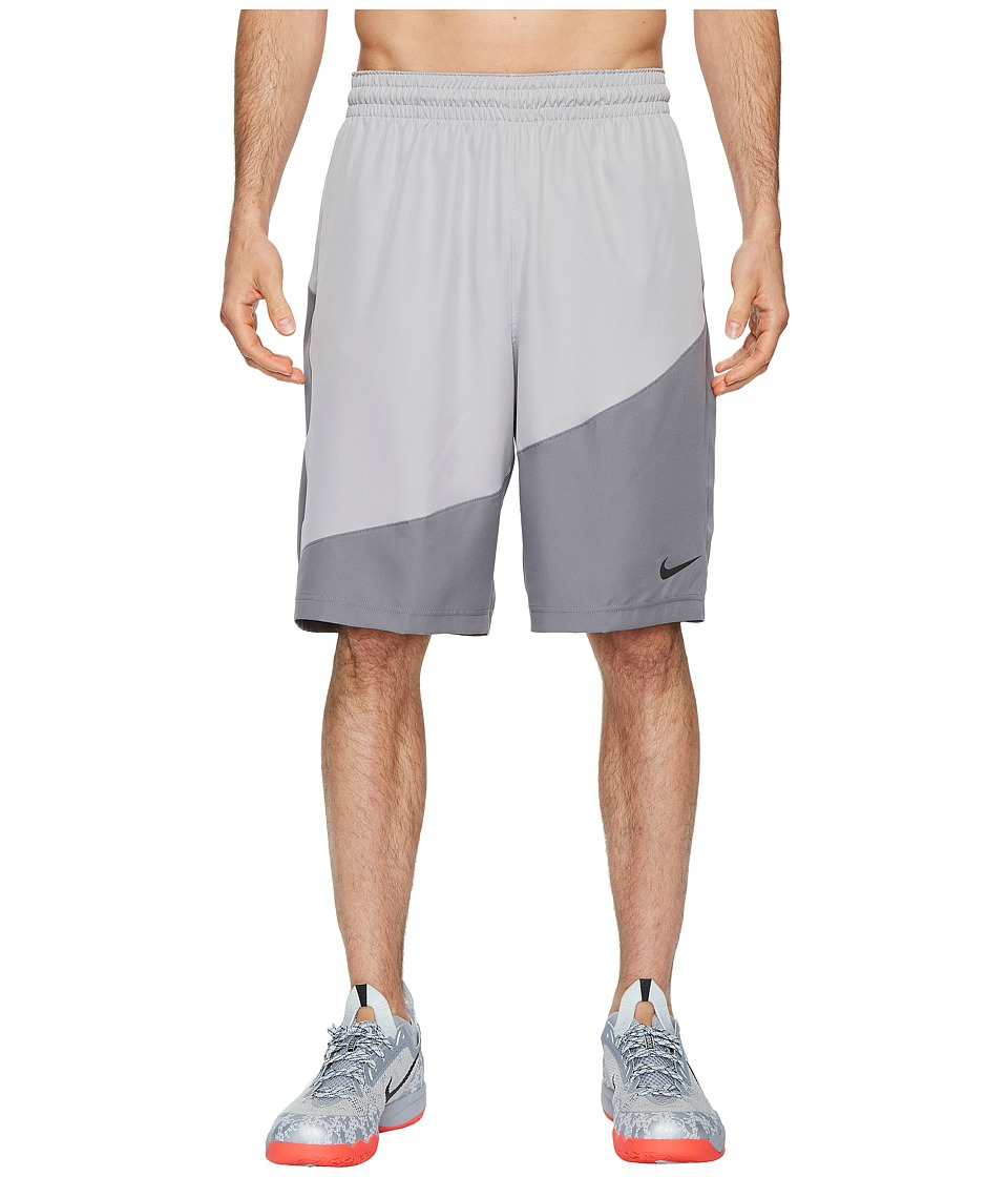 Nike Dry Basketball Short (Atmosphere Grey/Gunsmoke/Black) Men
