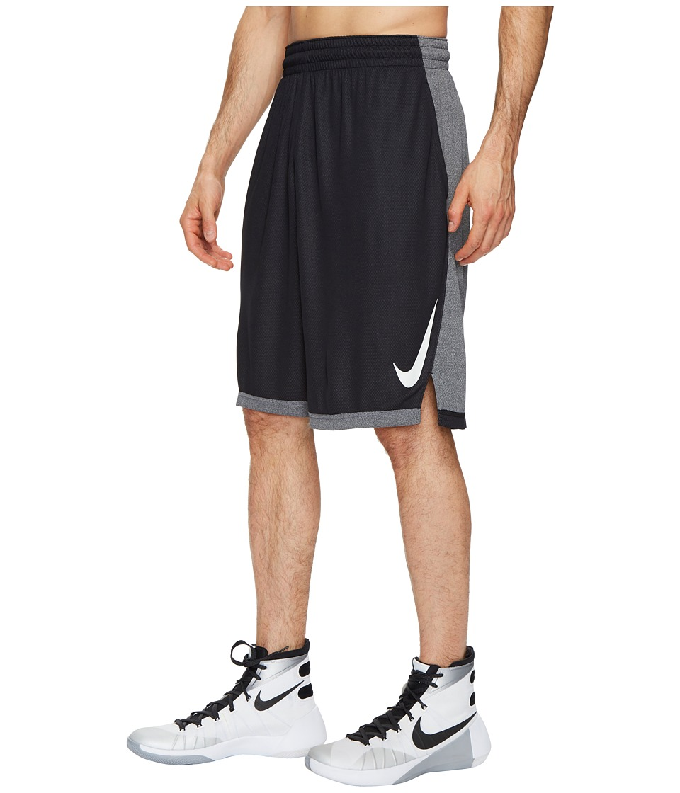 Nike Dry Dribble Drive Basketball Short (Black/White) Men