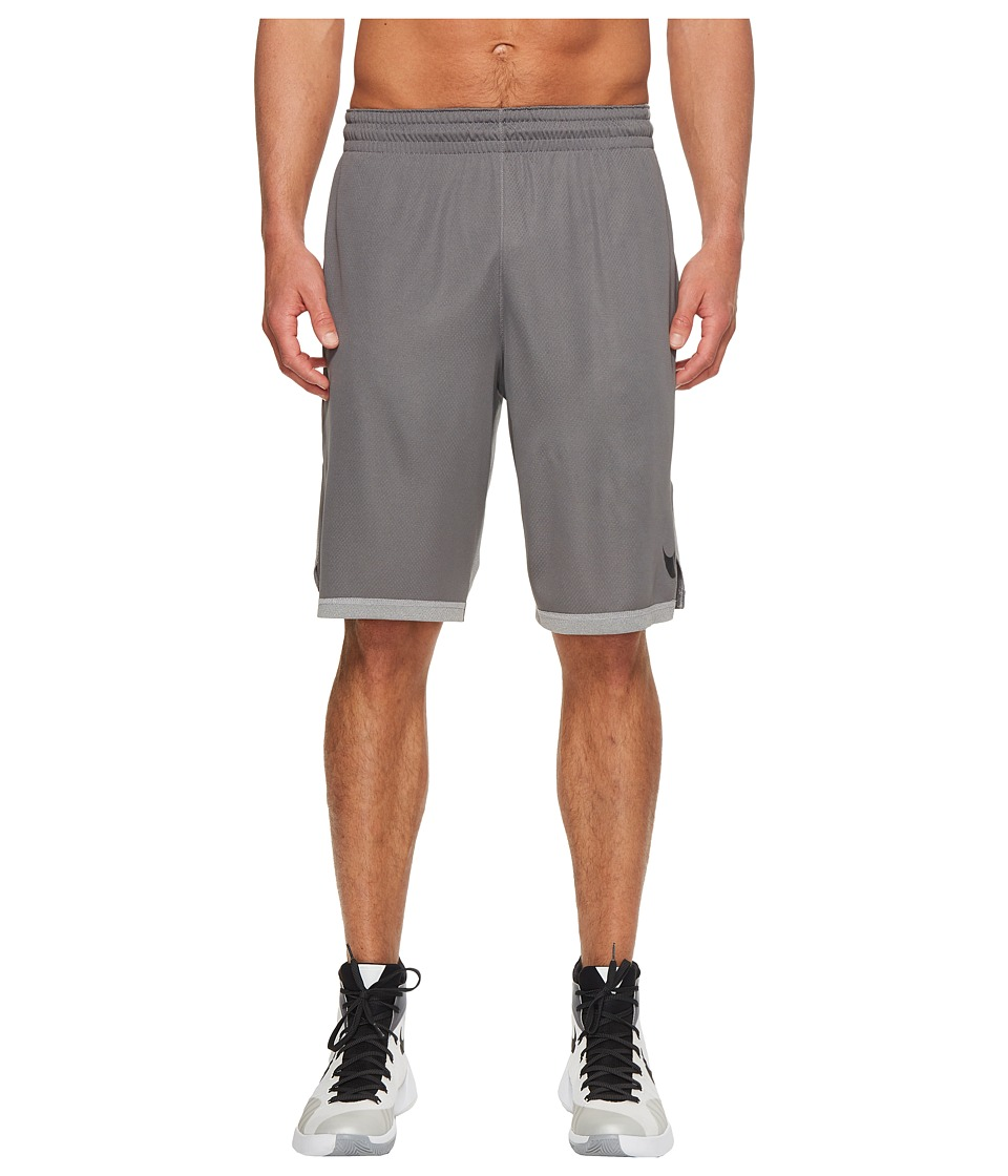 Nike Dry Dribble Drive Basketball Short (Gunsmoke/Black) Men