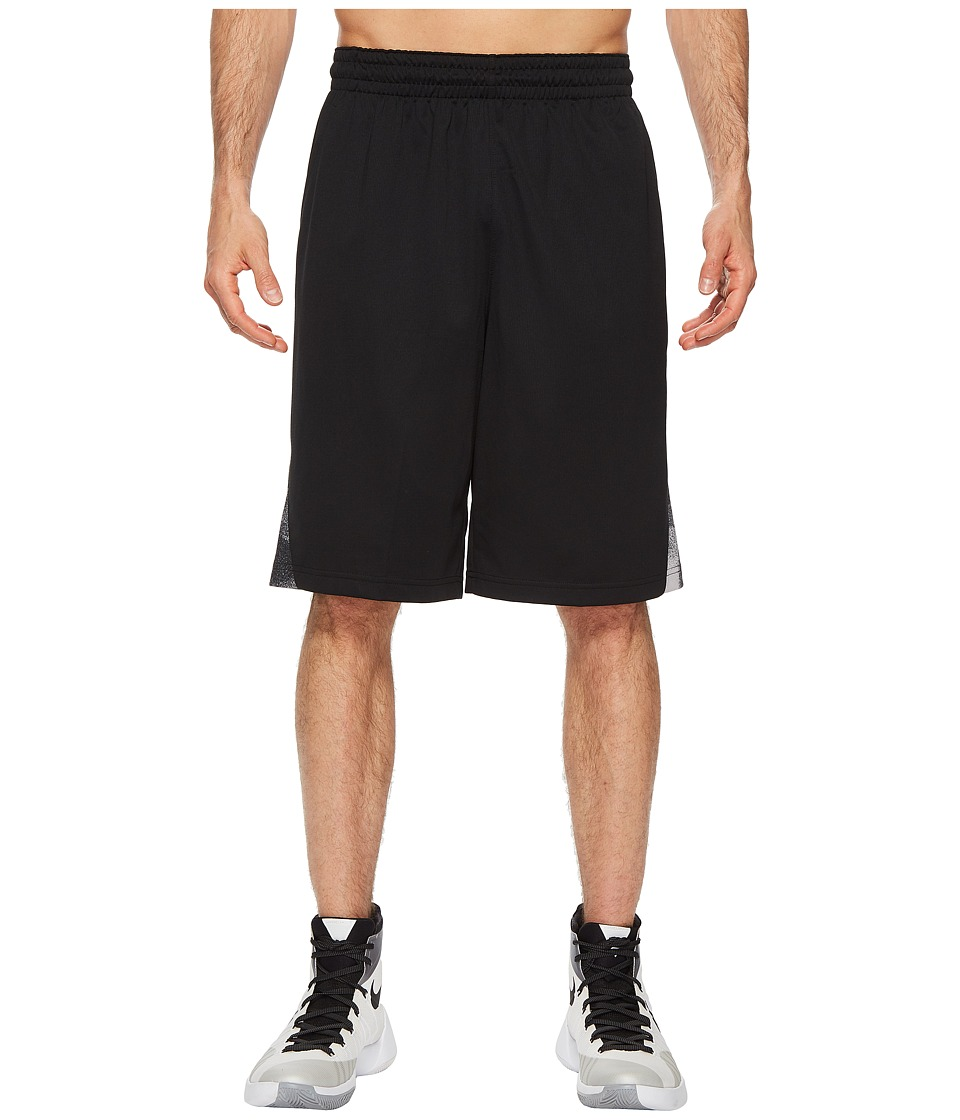 Nike Dry Buckets Basketball Short (Black/Black/Gunsmoke) Men