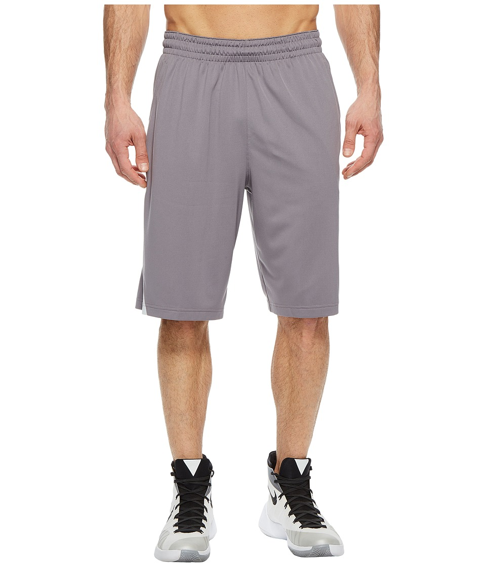 Nike Dry Buckets Basketball Short (Gunsmoke/Black/White) Men