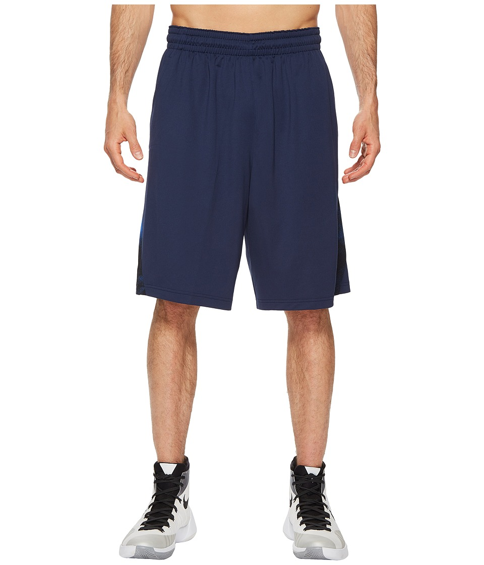 Nike Dry Buckets Basketball Short (Midnight Navy/Black/Hyper Cobalt) Men