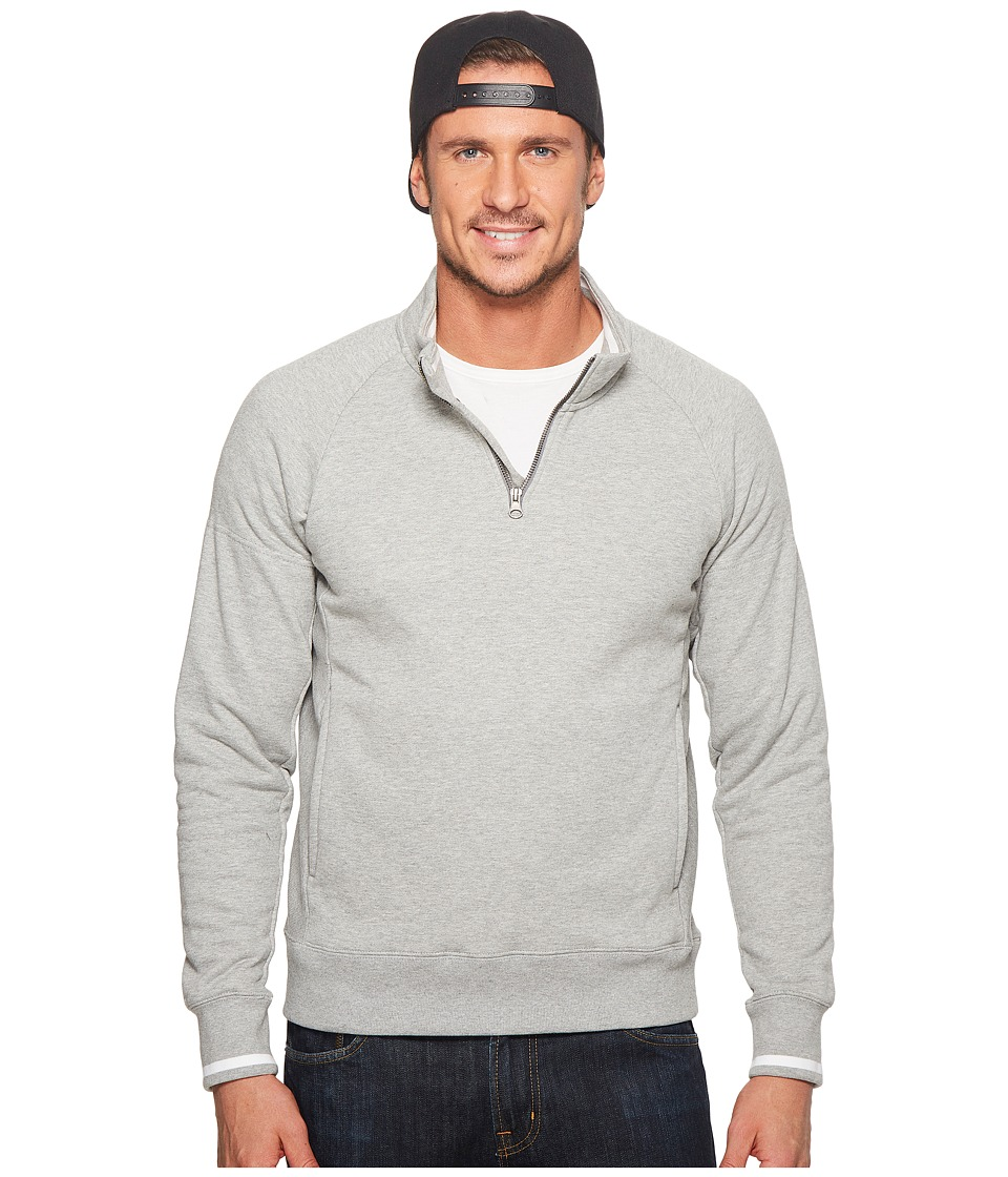 Nike SB - SB Everett Long Sleeve Skateboarding Top (Dark Grey Heather/White/Dark Grey) Mens Clothing