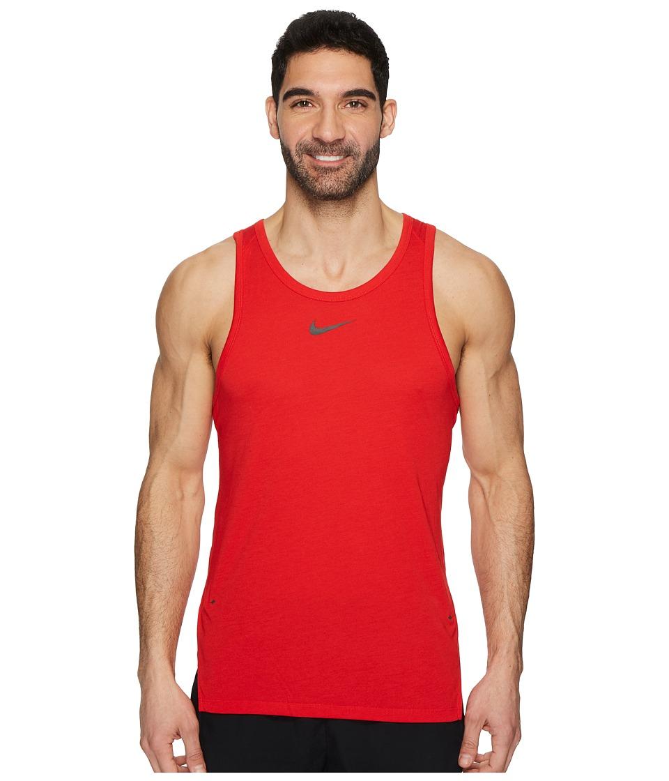 Nike Breathe Elite Sleeveless Top (University Red/White) Men